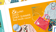 eredie work: & by P&D<br />Spring&Early Summer Leaflet